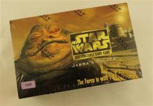 LOT STAR WARS JABBA''S PALACE BOXED AND SEALED CARD EXTENSION SETS