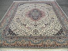 PAKISTANI PERSIAN TABRIZ PICTORIAL 8.1' X 10.5'