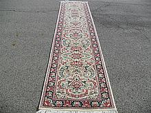 PAKISTANI PERSIAN TABRIZ RUNNER 2.7' X 12.8'