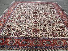 PERSIAN TABRIZ SIGNED 9.8' X 12.6'