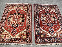 2 PAKISTANI PERSIAN HERIZ , EACH MEASURE 2.8' X 4.2'