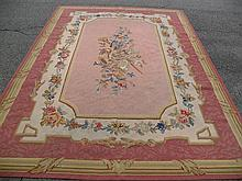 OLD FRENCH STYLE TAPESTRY 6.5' X 9.11'