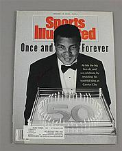 SPORTS ILLUSTRATED, JANUARY 13, 1992 FEATURING ALI'S 50TH BIRTHDAY