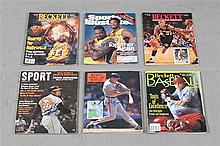 LOT SIGNED ASSORTED MAGAZINES INCLUDE SHAQUILLE O'NEAL