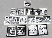 LOT CLEVELAND INDIAN 4 X 6 BLACK AND WHITE PUBLICITY PHOTOS