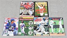 LOT SIGNED ASSORTED MAGAZINES INCLUDE DEION SANDERS