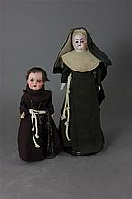 2 DOLLS INCLUDING 12 1/2