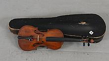CZECHOSLOVAKIA GLOVAN MAGGINI VIOLIN INCLUDING HARD CASE