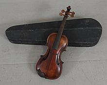 HOPF VIOLIN INCLUDING HARD CASE, 24