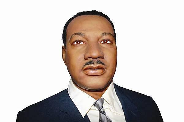MARTIN LUTHER KING JR. WAX FIGURE BY KATHERINE STUBERGH