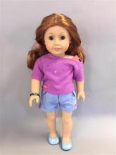 AMERICAN GIRL TRULY ME DOLL IN ORIGINAL BOX.  LIGHT SKIN, LONG WAVY RED HAIR AND GREEN EYES.