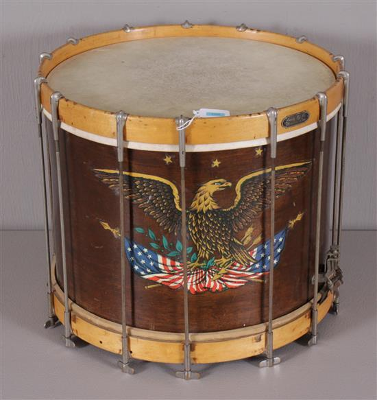 military style snare drum 16 d hole in drum head. Black Bedroom Furniture Sets. Home Design Ideas