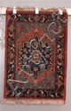 ORIENTAL RUG SEMI ANTIQUE PERSIAN HAMADAN, 2 X 3