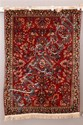 ORIENTAL RUG SEMI ANTIQUE PERSIAN SAROUK, 3.7 X 5.3