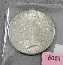 1928 PEACE SILVER DOLLAR (KEY DATE)