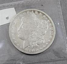 1891 O MORGAN SILVER DOLLAR
