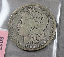 1889 O MORGAN SILVER DOLLAR