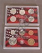 U.S. SILVER PROOF SET 2001, 10 PIECE SET