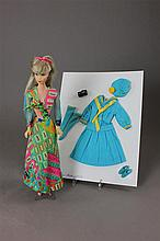 STANDARD BARBIE IN UNTAGGED OUTFIT AND INCLUDES #1872