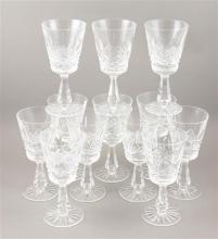 12 WATERFORD CRYSTAL WINES