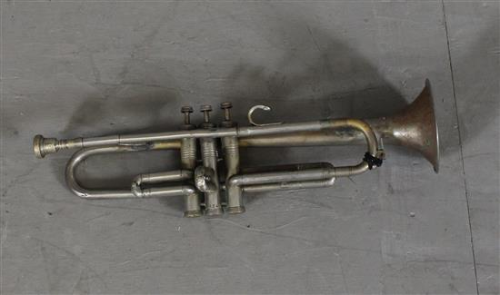 KIME SILVER PLATED TRUMPET