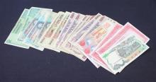 LOT VARIOUS FOREIGN CURRENCY