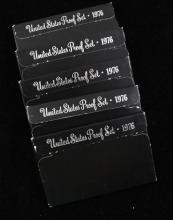 (5) 1976 BICENTENNIAL PROOF SETS