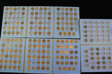 3 WHITMAN FOLDERS INCLUDING INDIAN HEAD CENT PARTIAL SET AND LINCOLN CENT VOL. 1 AND 2 PARTIAL SETS