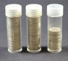 †APPROXIMATELY 125 ROOSEVELT SILVER DIMES *tax exempt*