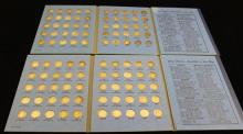 †2 WHITMAN ROOSEVELT DIME ALBUMS WITH 123 SILVER DIMES *tax exempt*