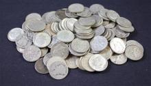 †98 BARBER, MERCURY, AND ROOSEVELT SILVER DIMES *tax exempt*