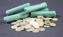 †332 BARBER, MERCURY, AND ROOSEVELT SILVER DIMES *tax exempt*