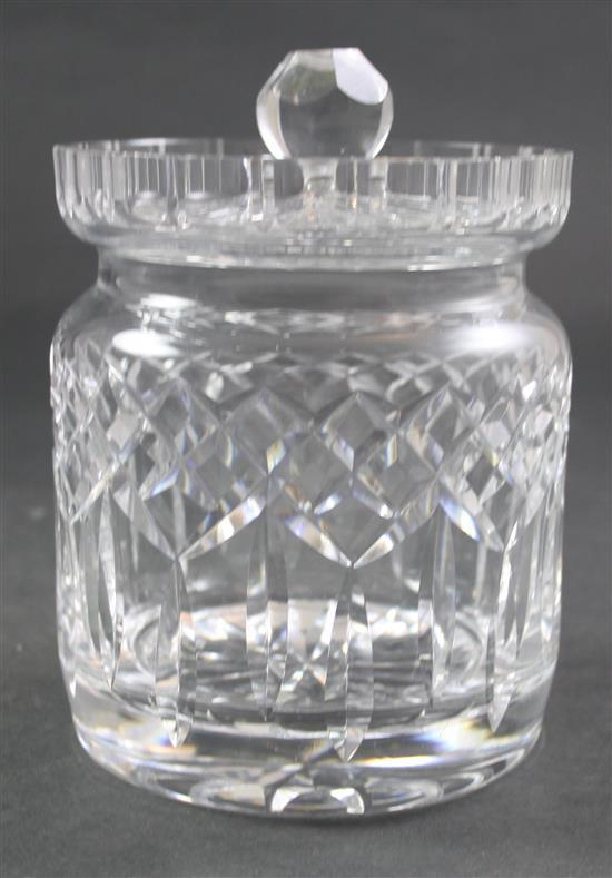 WATERFORD CRACKER JAR 7