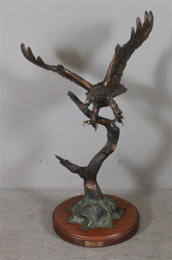 CARL WAGNER CAST BRONZE