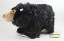 STEIFF SMITHSONIAN'S SLOTH BEAR, EAR BUTTON AND TAG, 11