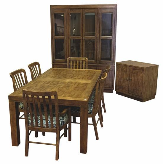 9 piece dining room set including table with leaves in box for 9 piece dining room set with leaf