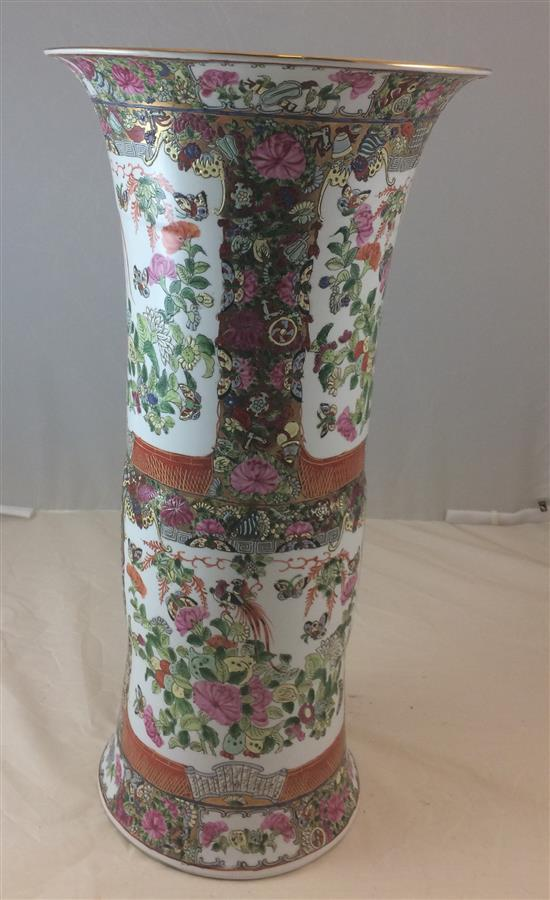 CHINESE PORCELAIN UMBRELLA STAND, 24
