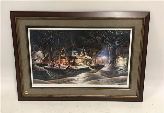 TERRY REDLIN FRAMED PRINT