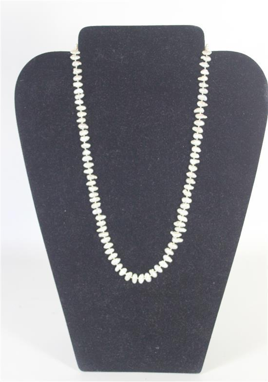 97-COUNT FRESHWATER PEARL NECKLACE MEASURING APPROX. 20