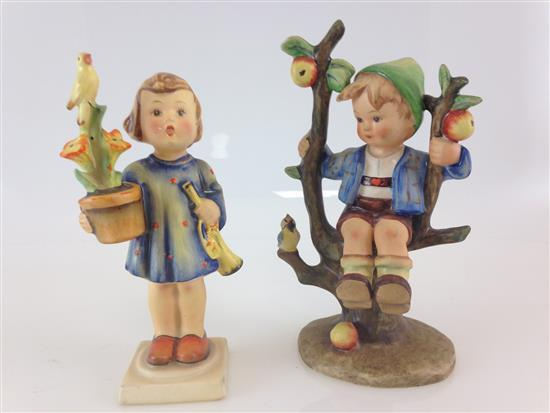 2 HUMMEL FIGURINES -