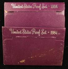 (2) 1984 U.S. PROOF SETS