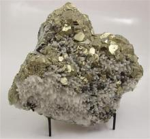 PYRITE ON QUARTZ, 9