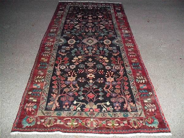 PERSIAN ZANJAN TREE OF LIFE RUNNER, 4.3 X 98 ~