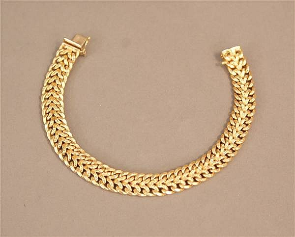 18 K YELLOW GOLD