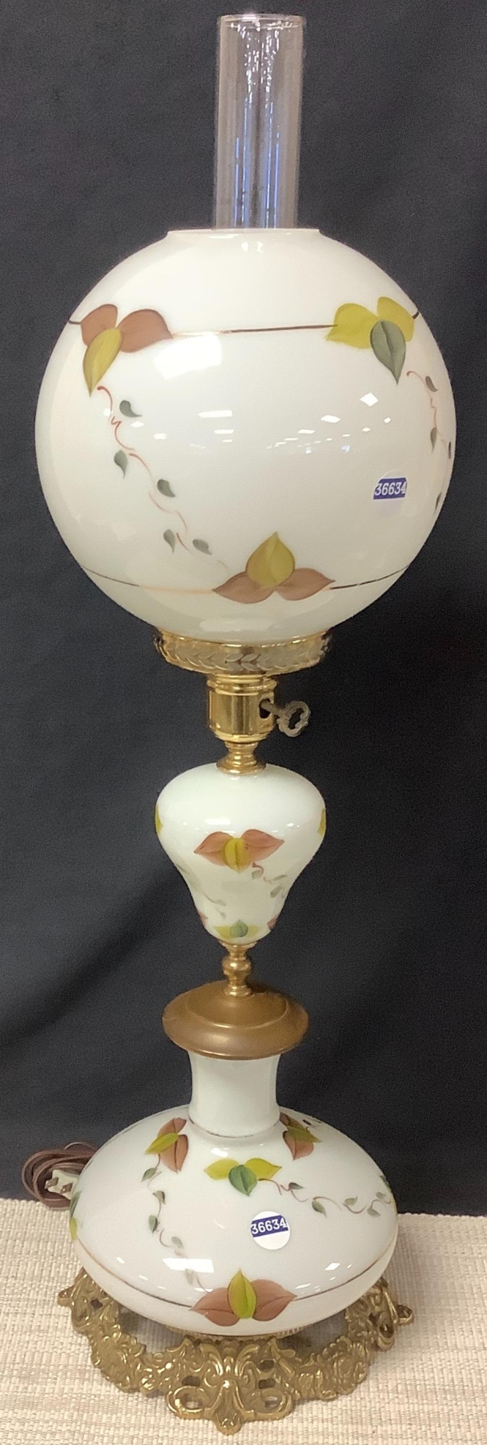 """3 tier banquet lamp. 33.5"""""""