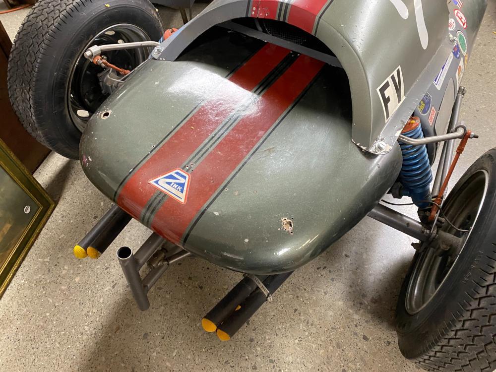 Race Car Zink Formula Vee NO TITLE (423-522-1522- Mid 1960's)