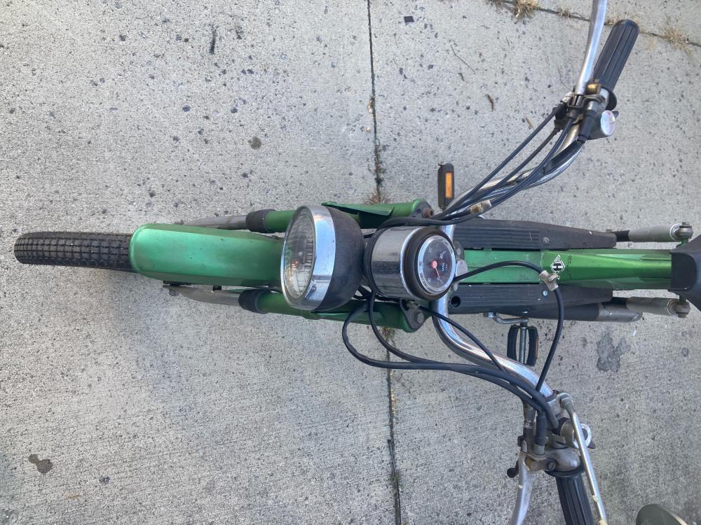 Sachs Westlake Moped, 459 miles