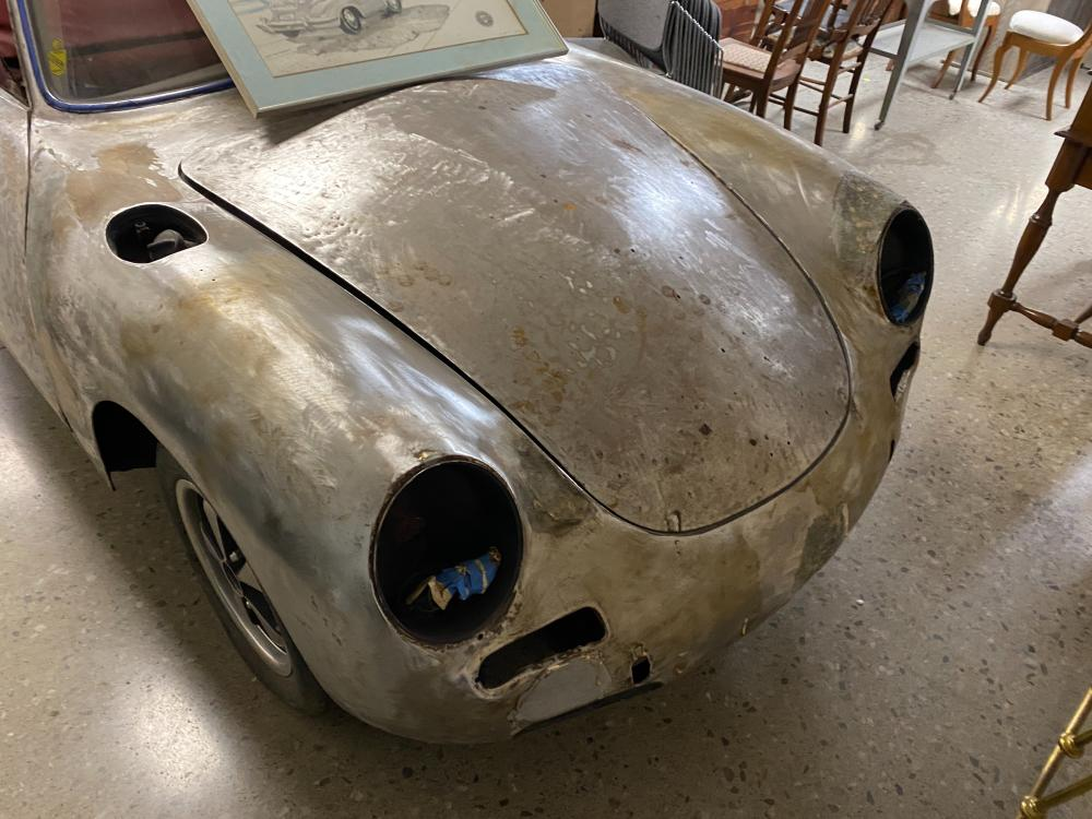 1964 Porsche Model C 2-Door 100,000 Non-Actual Miles Vin #13390 (Vin stamped on vehicle). Engine in vehicle dated 1959, 2nd engine dated 1963 #730120, one owner since 1972. A great rare project car, numerous parts inc...