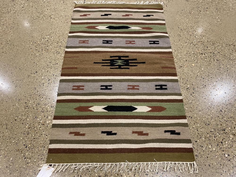Oriental rug, Turkish Kilim, 3' x 5'
