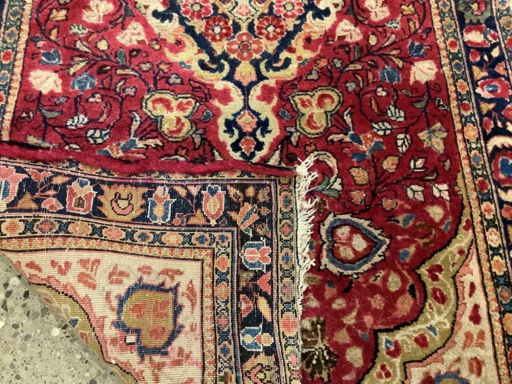 "Oriental rug, 2'6"" x 4'7"""